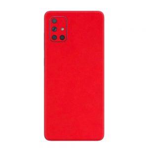 Skin Roșu Mat Samsung Galaxy A71