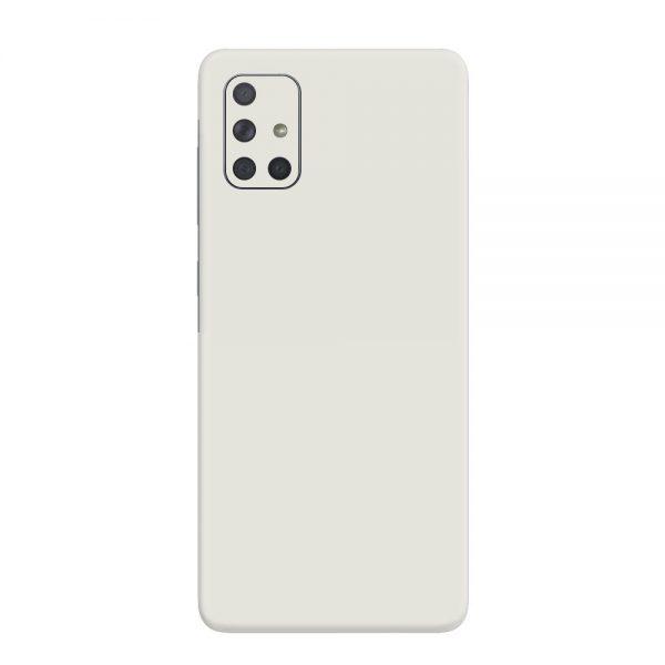 Skin Alb Mat Samsung Galaxy A71