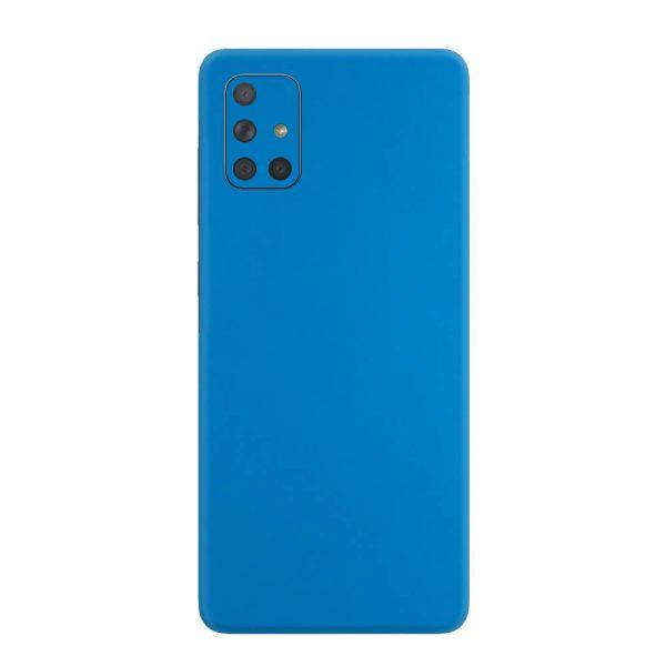 Skin Albastru Mat Samsung Galaxy A71