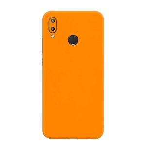 Skin Portocaliu Mat Huawei P20 Lite