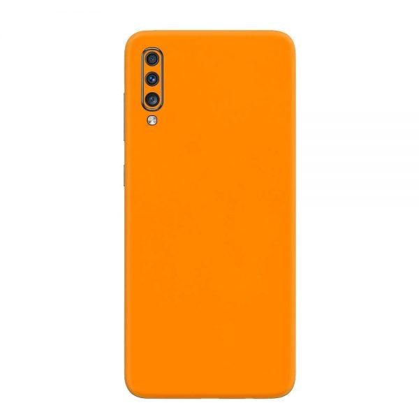 Skin Portocaliu Mat Samsung Galaxy A70