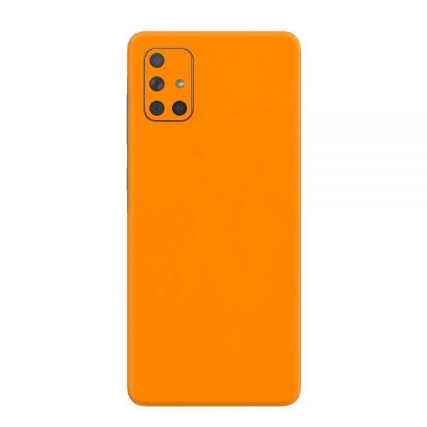 Skin Portocaliu Mat Samsung Galaxy A71