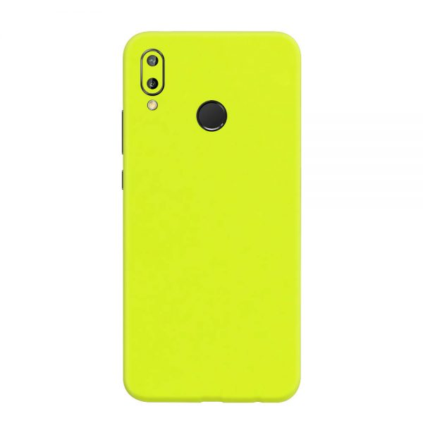 Skin Verde Neon Metalizat Huawei P20 Lite