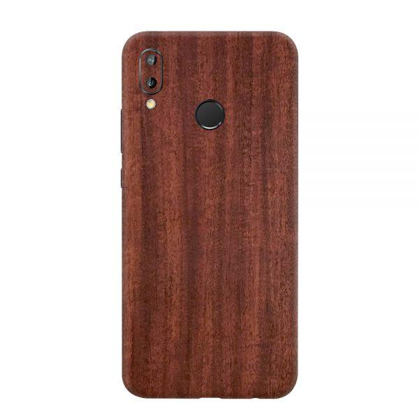 Skin Lemn de Mahon Huawei P20 Lite