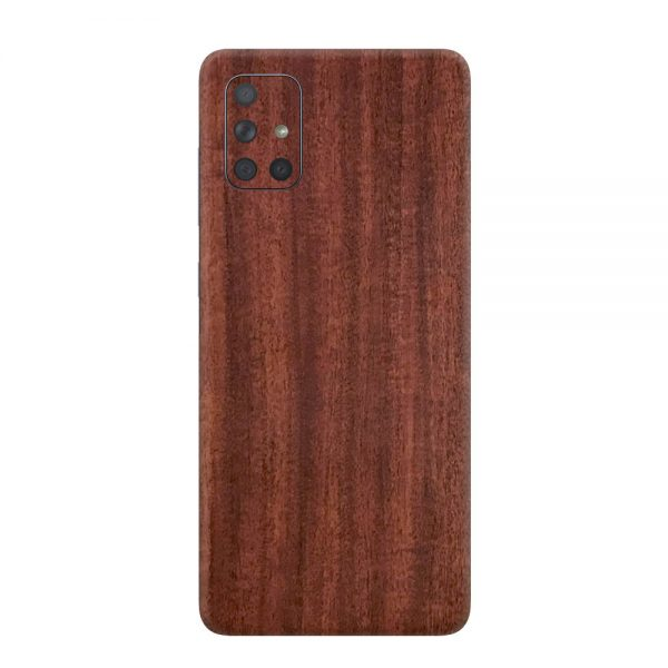 Skin Lemn de Mahon Samsung Galaxy A71
