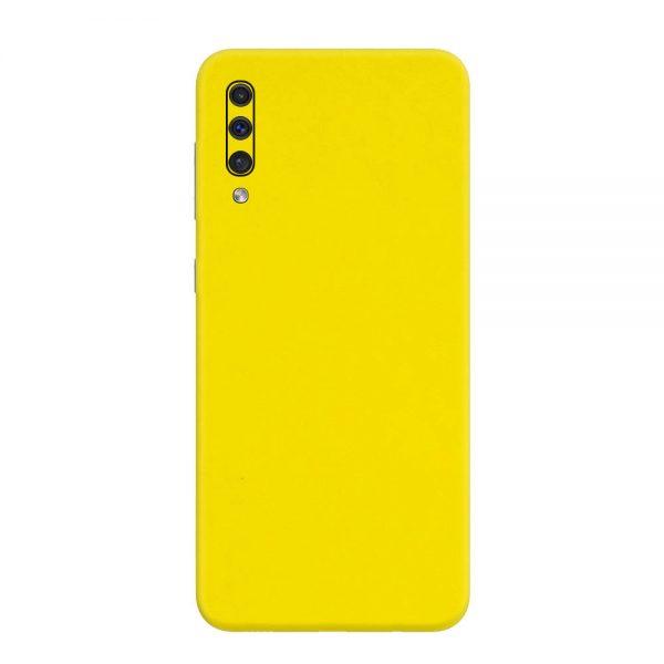 Skin Galben Lucios Samsung Galaxy A50