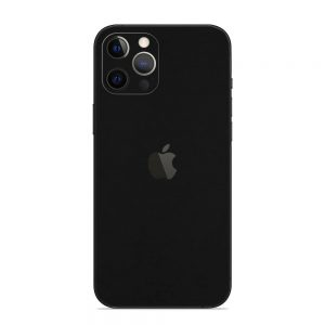 Skin Negru Mat iPhone 12 Pro / iPhone 12 Pro Max
