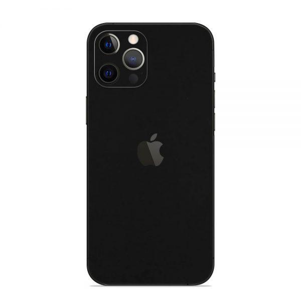 Skin Negru Mat iPhone 12 Pro / iPhone 12 Pro Max