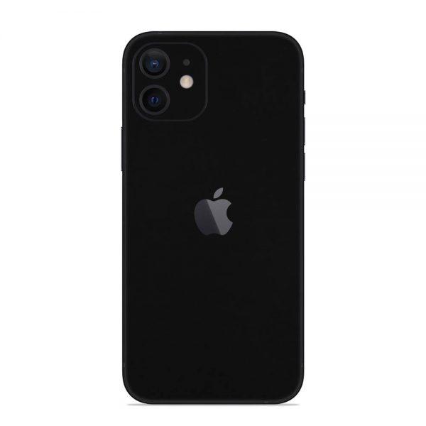 Skin Negru Mat iPhone 12