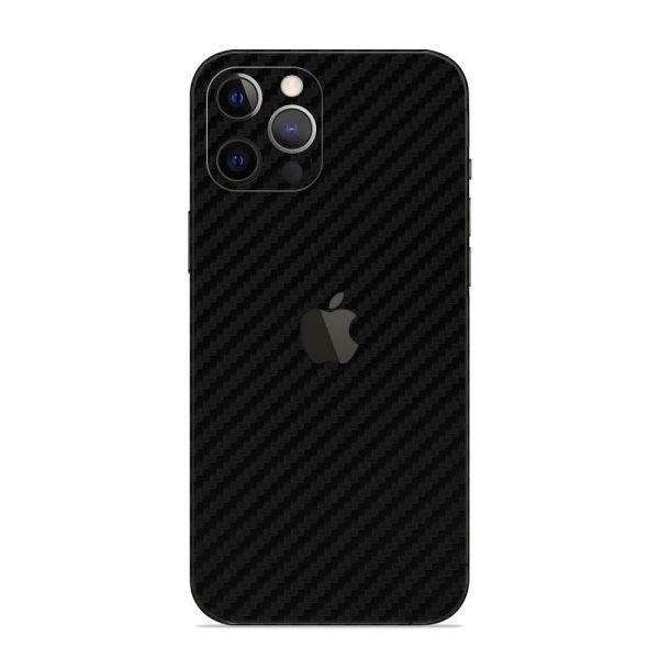 Skin Fibră de Carbon iPhone 12 Pro / iPhone 12 Pro Max