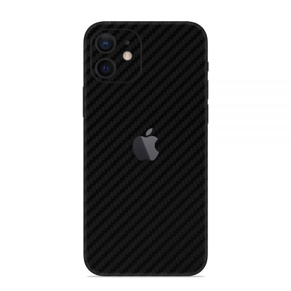 Skin Fibră de Carbon iPhone 12