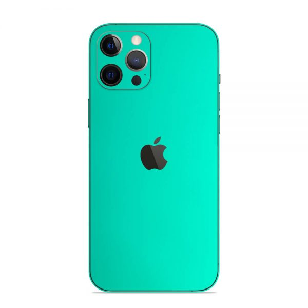 Skin Crom Verde Smarald Mat iPhone 12 Pro / iPhone 12 Pro Max