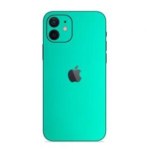 Skin Crom Verde Smarald Mat iPhone 12
