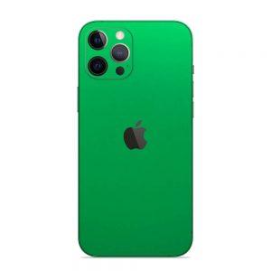 Skin Crom Verde Mat iPhone 12 Pro / iPhone 12 Pro Max