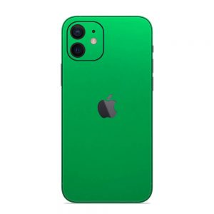 Skin Crom Verde Mat iPhone 12