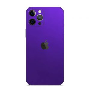 Skin Crom Violet Mat iPhone 12 Pro / iPhone 12 Pro Max