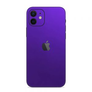Skin Crom Violet Mat iPhone 12
