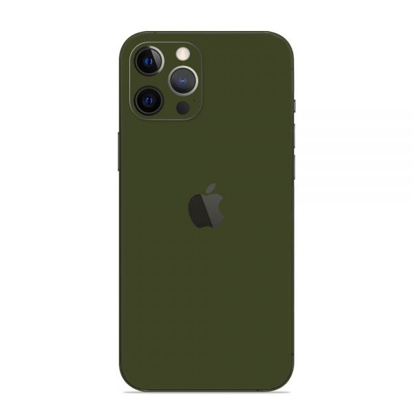 Skin Nato Green Mat iPhone 12 Pro / iPhone 12 Pro Max