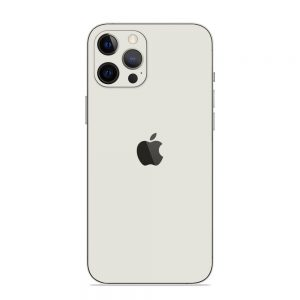 Skin Alb Mat iPhone 12 Pro / iPhone 12 Pro Max