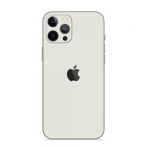 Skin Alb Mat iPhone 12 Pro / iPhone 12 Pro Max / 13 Pro / 13 Pro Max