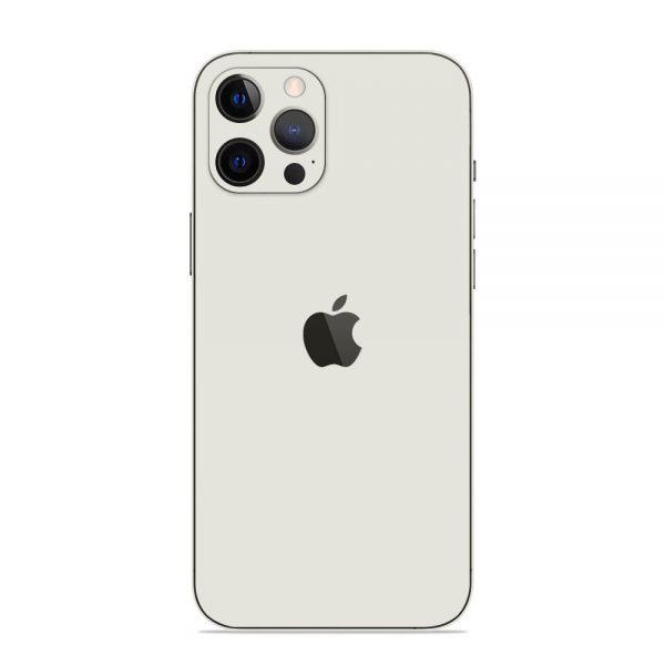 Skin Alb Mat iPhone 12 Pro / iPhone 12 Pro Max