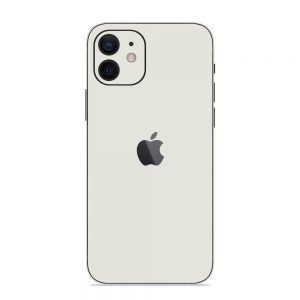 Skin Alb Mat iPhone 12