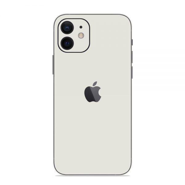 Skin Alb Mat iPhone 12