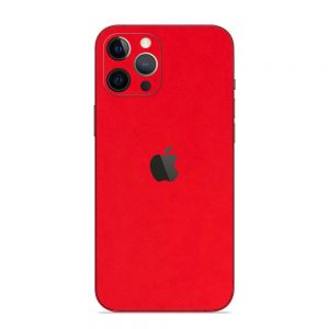Skin Roșu Mat iPhone 12 Pro / iPhone 12 Pro Max