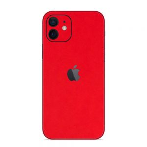 Skin Roșu Mat iPhone 12
