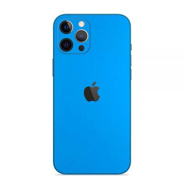 Skin Albastru Mat iPhone 12 Pro / iPhone 12 Pro Max