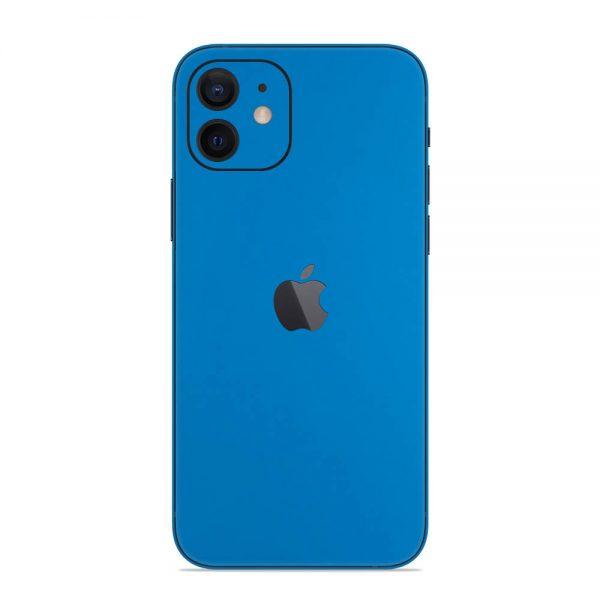 Skin Albastru Mat iPhone 12