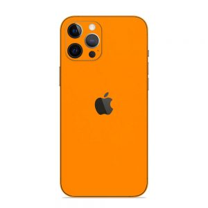 Skin Portocaliu Mat iPhone 12 Pro / iPhone 12 Pro Max
