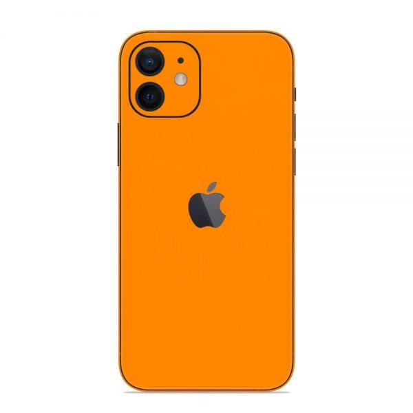 Skin Portocaliu Mat iPhone 12