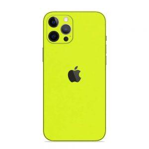 Skin Verde Neon Metalizat iPhone 12 Pro / iPhone 12 Pro Max