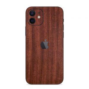 Skin Lemn de Mahon iPhone 12