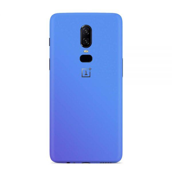 Skin Cameleon Bleu Mov OnePlus 6