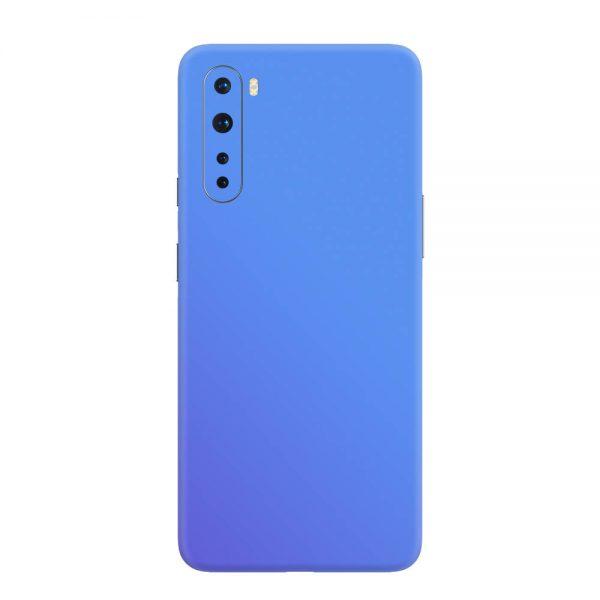 Skin Cameleon Bleu Mov OnePlus Nord