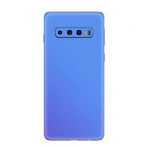 Skin Cameleon Bleu Mov Samsung Galaxy S10 / S10 Plus