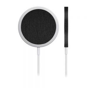 Skin Black Titanium pentru încărcător iPhone MagSafe