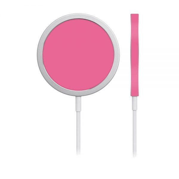 Skin Roz Mat pentru încărcător iPhone MagSafe