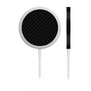 Skin Fibră de Carbon pentru încărcător iPhone MagSafe