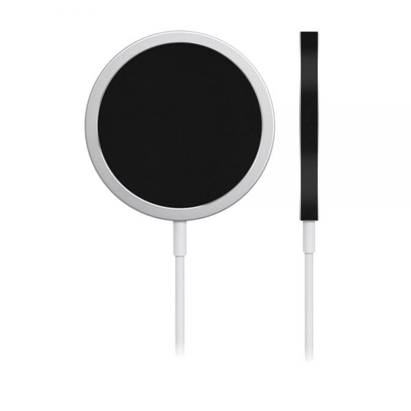 Skin Negru Mat pentru încărcător iPhone MagSafe