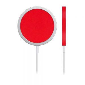 Skin Roșu Mat pentru încărcător iPhone MagSafe
