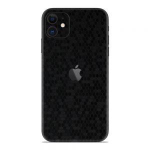 Skin Fibră de Carbon Fagure iPhone 11