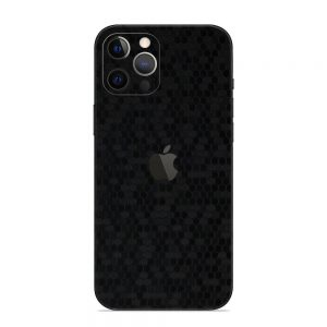 Skin Fibră de Carbon Fagure iPhone 12 Pro / 12 Pro Max