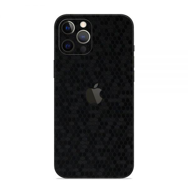 Skin Fibră de Carbon Fagure iPhone 12 Pro / 12 Pro Max