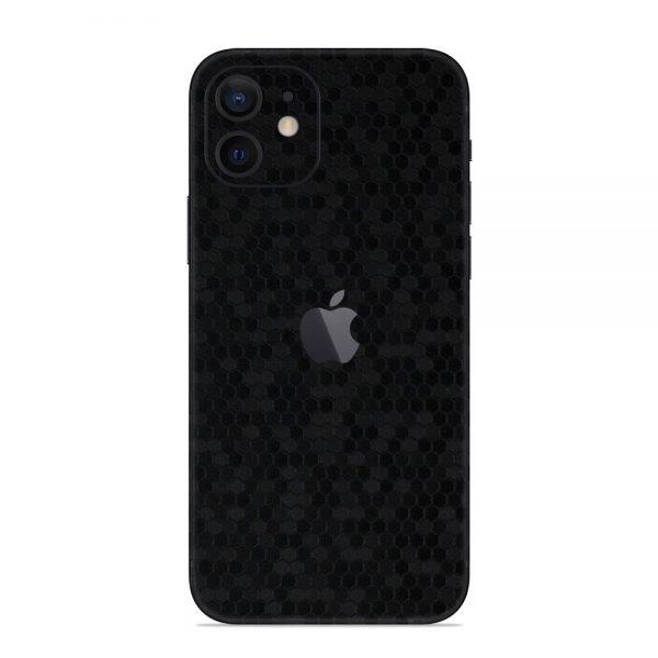 Skin Fibră de Carbon Fagure iPhone 12 / 12 Mini