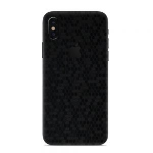 Skin Fibră de Carbon Fagure iPhone X / Xs / Xs Max