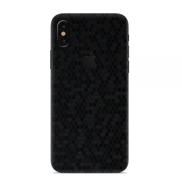 Skin Fibră de Carbon Fagure iPhone X / Xs / Xs Max