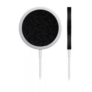 Skin Fibră de Carbon Fagure pentru încărcător iPhone MagSafe